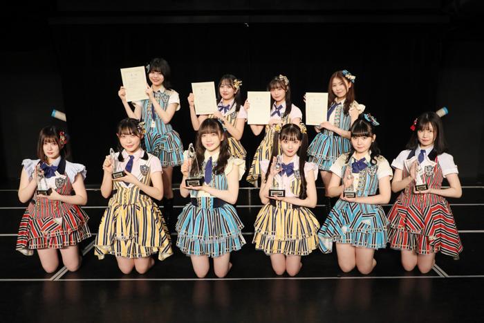SKE48「ティーンズユニット」の投票結果発表!Wセンターは坂本真凛と末永桜花に