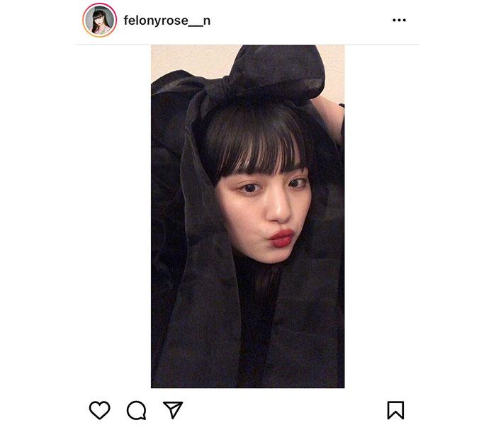 鶴嶋乃愛、アレンジしたリボンコーデが「可愛い」と大反響!