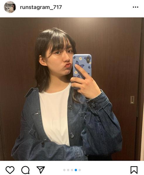 豊田ルナ、ショートパンツコーデで美脚全開!「可愛い〜」「ラフめっちゃにあう」と反響も