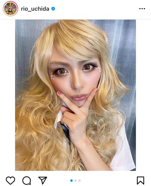 内田理央の金髪ギャルメイクに反響ぞくぞく「めちゃくちゃ可愛いです」「違和感なし!」