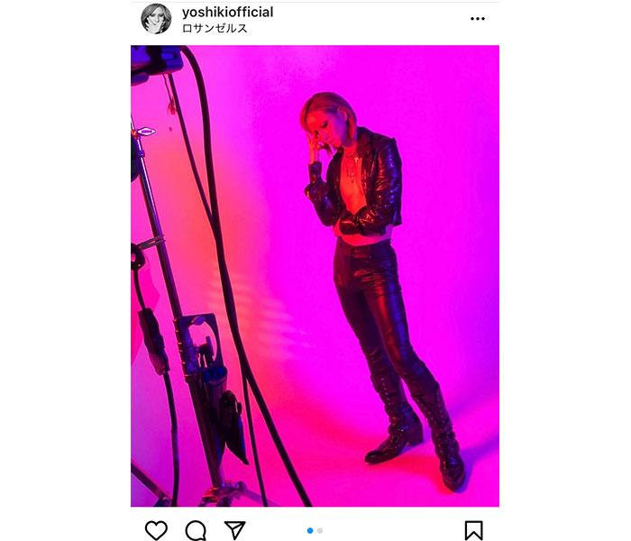 X JAPAN YOSHIKI、写真集「XY」撮影中のオフショット公開