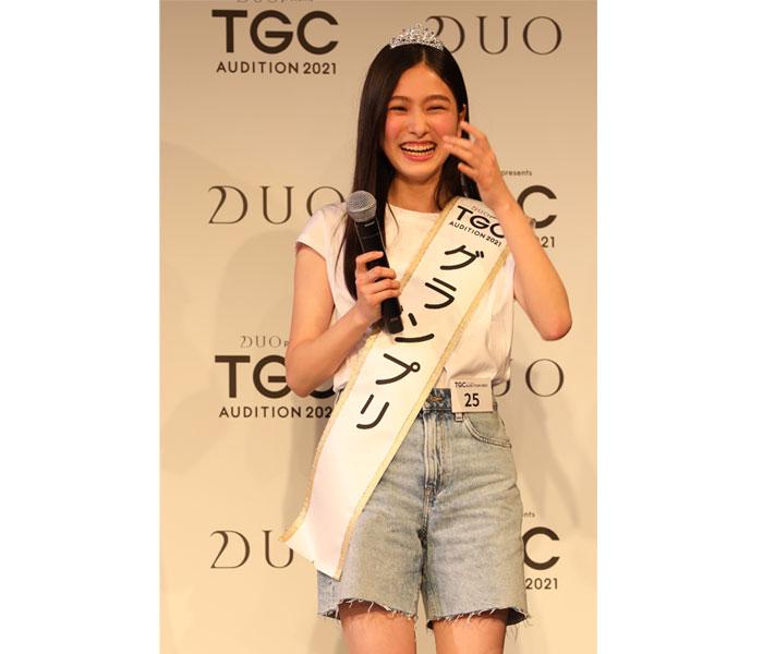 約6,400人の頂点に14歳 寺島季咲さんがグランプリを受賞 !<DUO presents TGC AUDITION 2021>