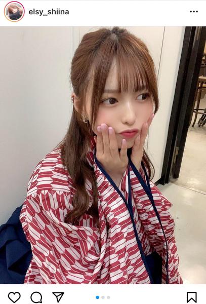 elsy 新井椎夏、袴姿の和装ショット公開!「ハイカラさんやね」「惚れてまうやろう」