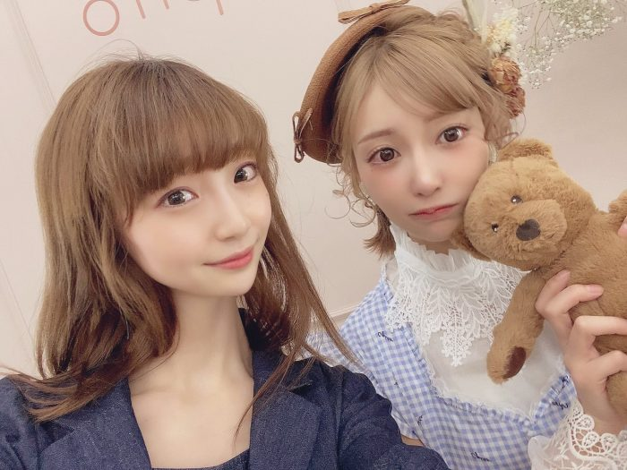 NGT48 荻野由佳、明日花キララと2ショットに感激!「本当に可愛くて 見惚れてしまいました」