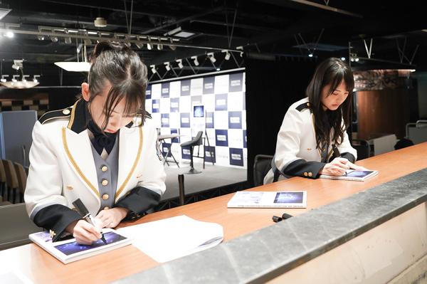 STU48 石田みなみ&福田朱里の共通点は?「真面目なところ」「距離感がいいんだと思う」