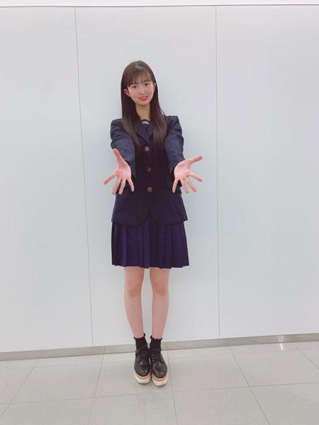 SKE48 藤本冬香、「現役よりも現役」な制服姿に歓喜の声!