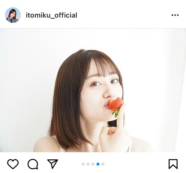 伊藤美来、お肉を頬張るオフショットが可愛すぎる!