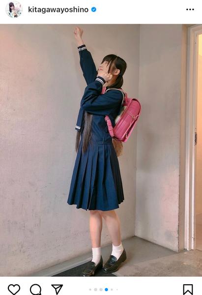 SKE48 北川愛乃、紺セーラーのリアル制服姿に反響!「育ちの良いお嬢様みたい」