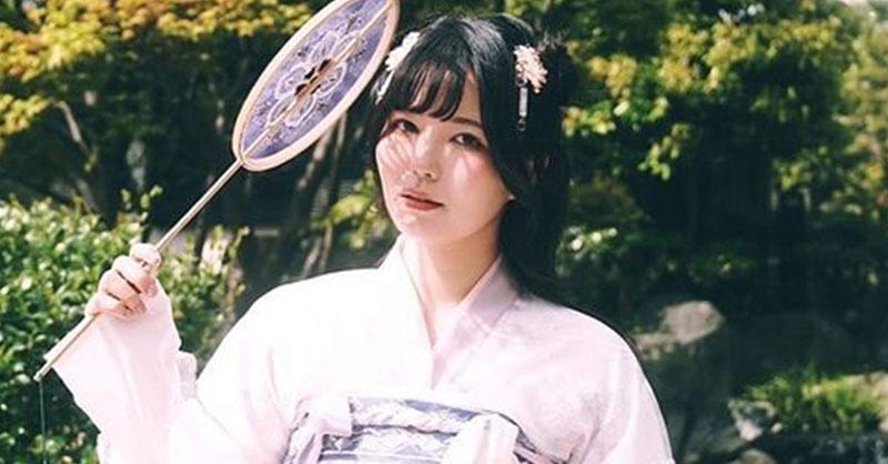 九条ねぎ、中国・漢服のポートレートで溢れる異国情緒感