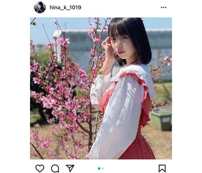 菊地姫奈、ワンピース姿が爽やかな春色ポートレート披露