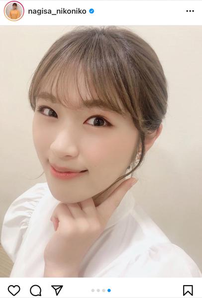 """NMB48 渋谷凪咲、""""リアル白雪姫""""な白衣装に反響ぞくぞく!"""