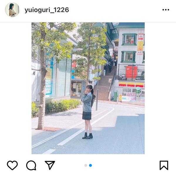 AKB48 小栗有以、制服ポニーテール姿に反響ぞくぞく!