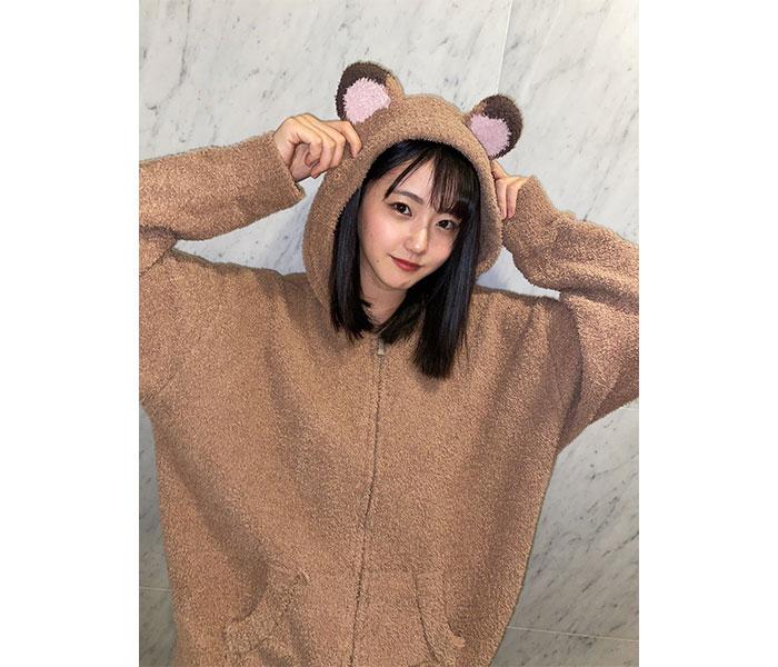 STU48 瀧野由美子、実はタヌキなパーカー姿で「おやすみ」投稿!