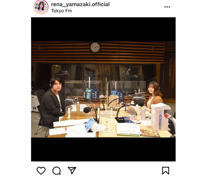乃木坂46 山崎怜奈、佐久間宣行氏とラジオで共演し感動「ラジオが大好きって言い続けてよかった!」