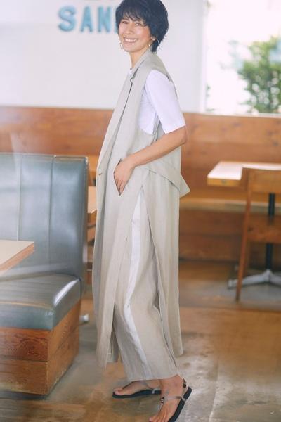 女優・内田有紀が初登場! 長谷川理恵&V6の井ノ原快彦をクローズアップ、春のトレンド服徹底試着を大特集した『STORY』2021年5月号