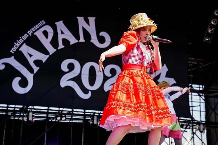 【ライブレポート】きゃりーぱみゅぱみゅ、久々のライブは人気曲のオンパレード!<JAPAN JAM 2021>