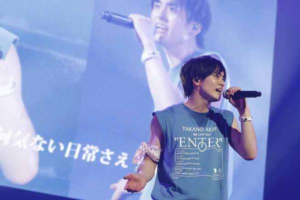 """『高野洸 1st Live Tour """"ENTER""""』 埼玉公演にて、 2021年8月18日(水)に5thシングル「Vacances」のリリースを発表!"""