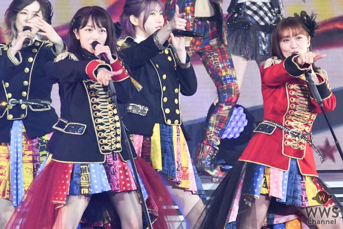 大島優子、峯岸みなみ卒コンにサプライズ登場!『ヘビーローテーション』をセンターで熱唱!