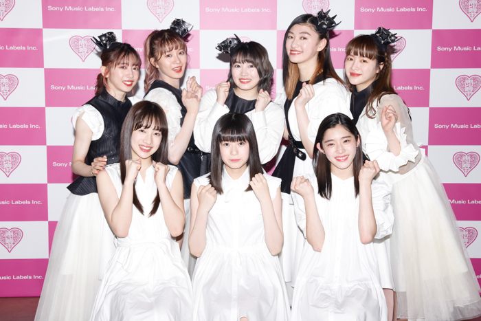 私立恵比寿中学、新メンバー3人がついに発表!新たな9人体制に「優しく、熱い気持ちで見てやってください!!」