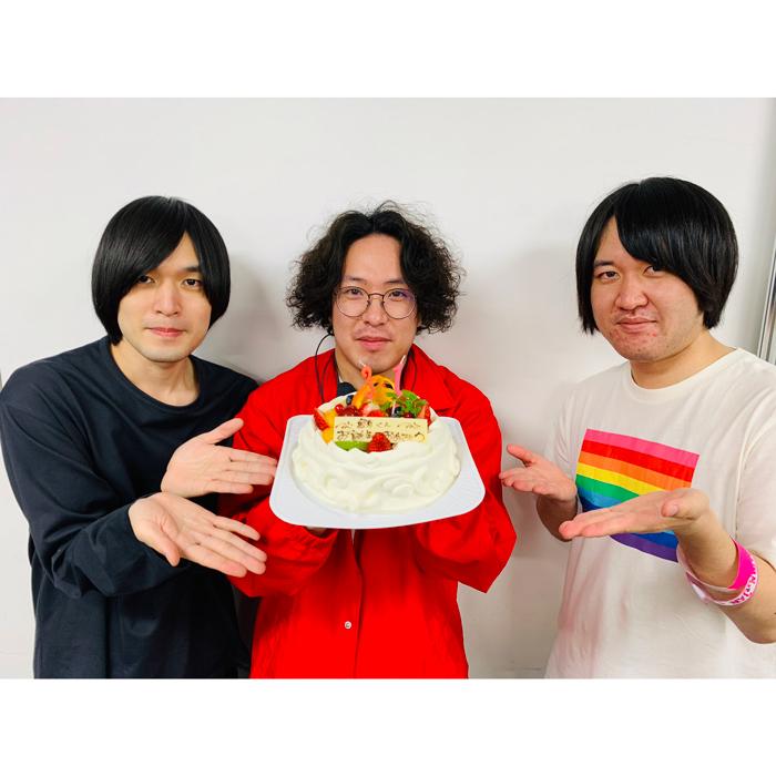 KANA-BOONの谷口鮪、31歳の誕生日をファンをメンバーが祝福!「誕生日おめでとう鮪さん」