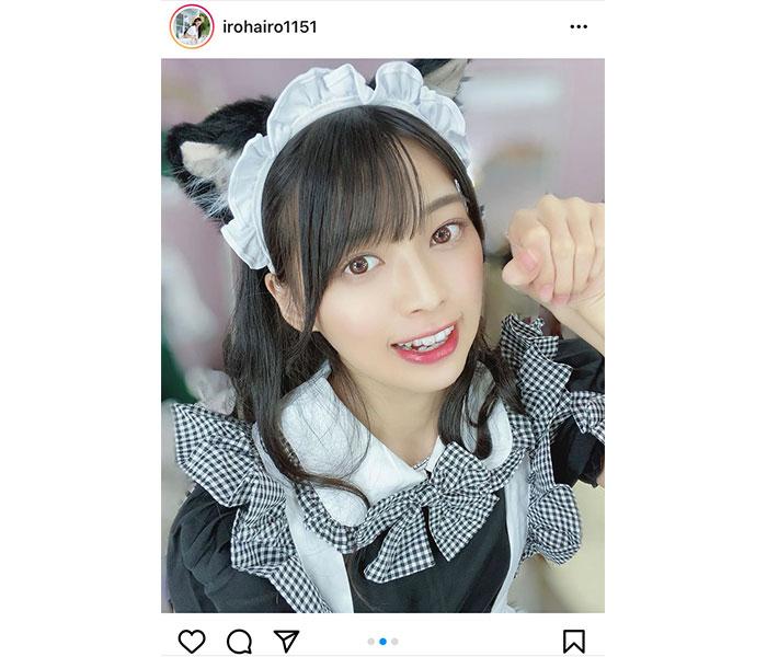 藤田いろは、ご奉仕したい猫耳メイドコスプレに歓喜の声!