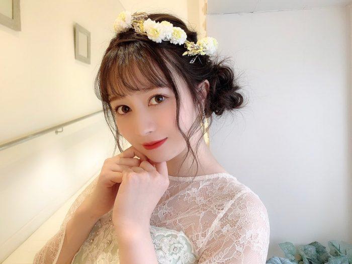 SKE48 江籠裕奈、大きな瞳に吸い込まれるドレス姿に「綺麗すぎてため息出る」