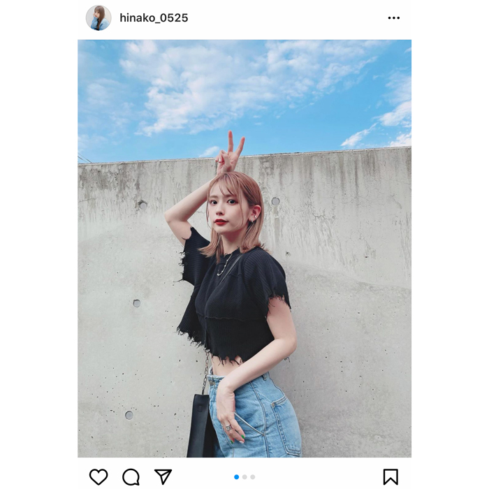 モデル 陽南子、27歳の誕生日にピース!お祝いコメント続々!「お誕生日おめでとう」