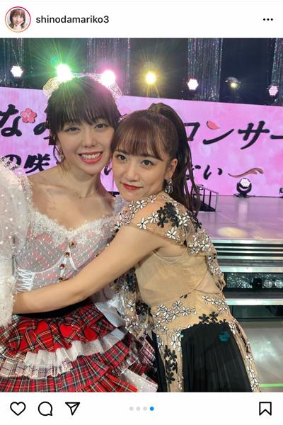 篠田麻里子、峯岸卒コンで久しぶりの衣装姿を披露!「多分最後の上からマリコ」