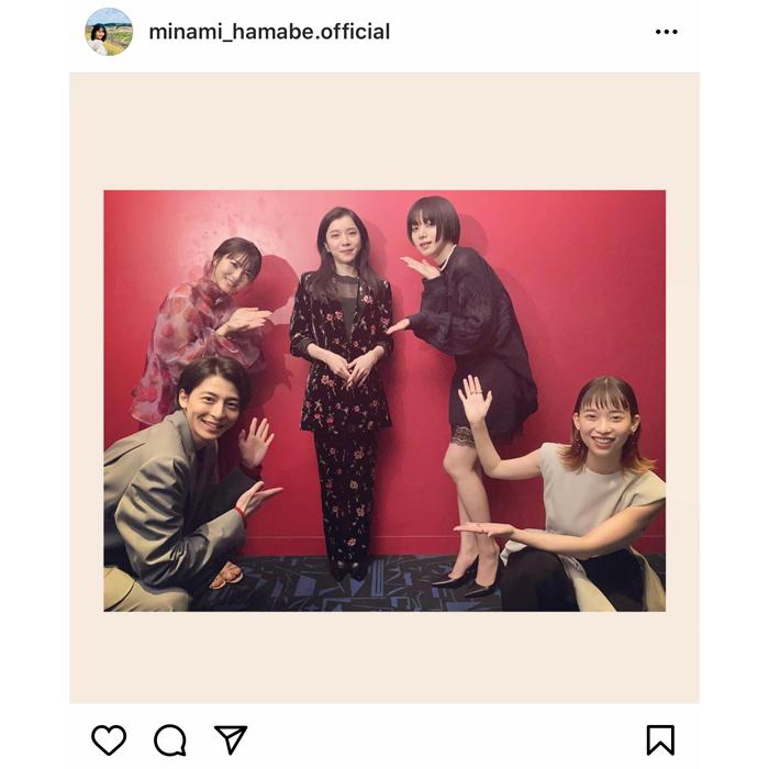 浜辺美波、池田エライザら賭ケグルイメンバーとの集合写真を公開!「神でした!かわいすぎ!」
