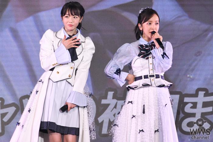 板野友美、峯岸みなみ卒コンにゲスト出演!妊娠発表後初のステージに祝福の拍手も!
