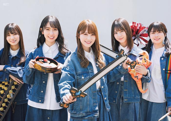 日向坂46が「B.L.T.」で限定ユニット「日向坂防衛隊」を結成!