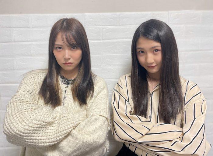 <みるみる道場>NMB48 白間美瑠の対談企画がスタート!第1回ゲスト・塩月希依音が抱える悩みとは?