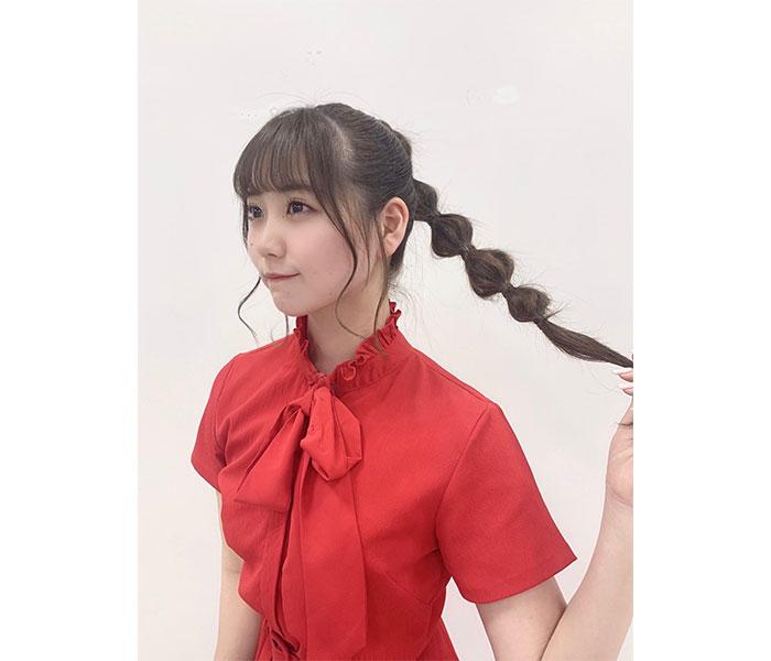 """NGT48 小熊倫実の""""たまねぎヘア""""が好評!「たまねぎってそうやって実るのか」"""
