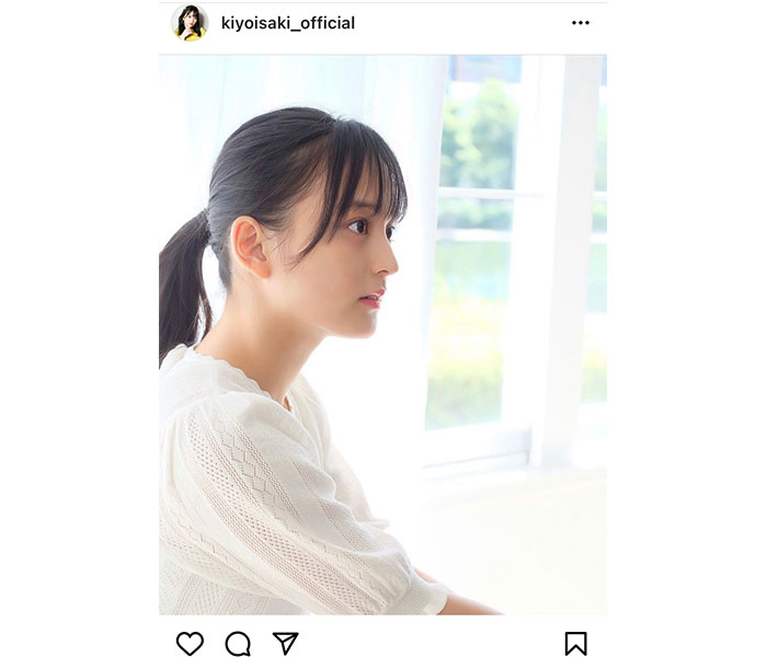 たこやきレインボー 清井咲希、美人すぎる横顔ポニーテールに反響!