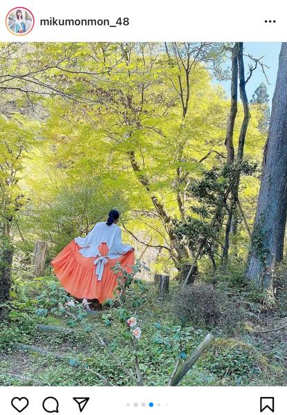 HKT48 田中美久、シースルーの大人ワンピース姿に歓喜の声ぞくぞく!