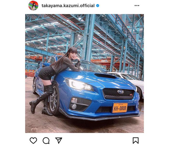 乃木坂46 高山一実、スタイル抜群のMVオフショットがカッコよすぎる!