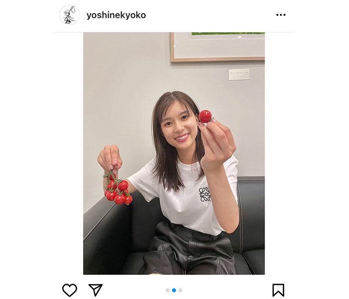 """芳根京子、ただトマトを食べるだけの""""もぐもぐタイム""""が可愛すぎる!"""