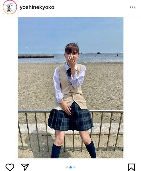 芳根京子、ポニーテールを風になびかせた制服動画を公開