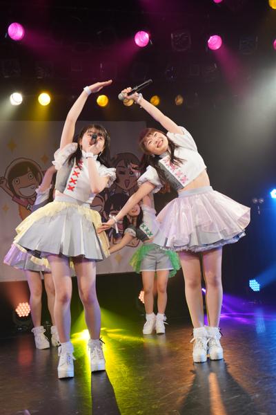 【ライブレポート】アップアップガールズ(2)、恵比寿リキッドルームでワンマン開催!新曲「にきちゃんわんだーらんど」を初披露。