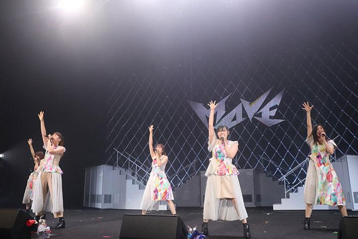 エビ中、「動きで魅せる」Concept Live ~MOVE~6人体制最後のワンマンライブを大成功で終了!