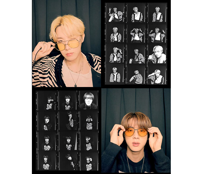 BTS、新たなコンテンツリレー「バトンタッチ」二番目の主人公はJ-HOPEとJIN!