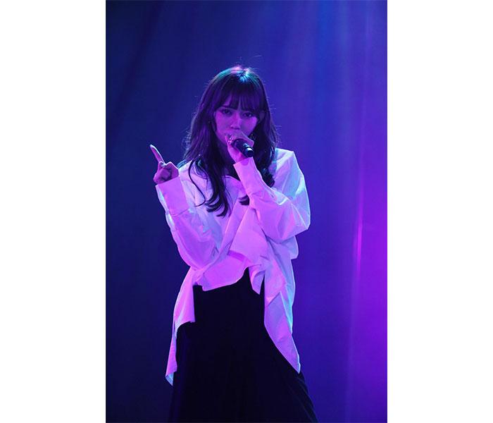 野島樺乃、ソロLIVEでSKE48卒業後に加入する「&」(アンド)が初披露