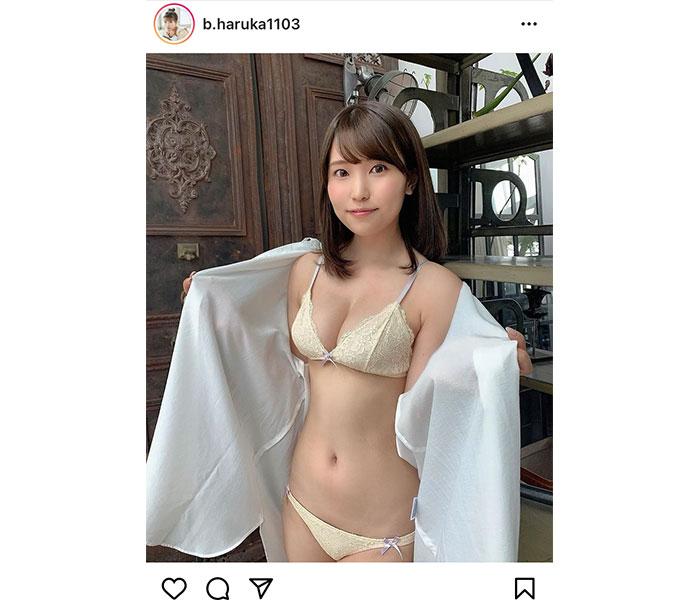 坂東遥、水着オフショットで健康美ボディを披露