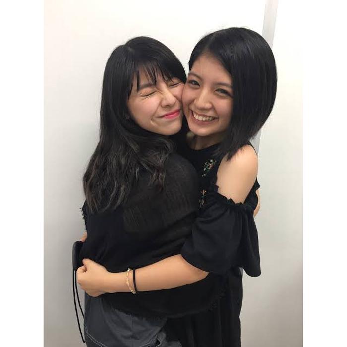 田中美麗、坂元葉月(わーすた)とのツーショットを公開!「涙目でもらい泣き」「オタクも最後までがんばる」