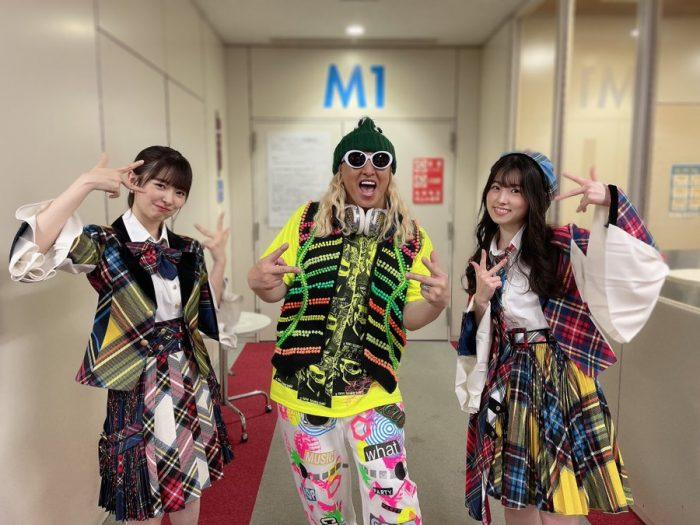 AKB48 岩立沙穂、番組共演のDJKOO、櫻坂46 井上梨名、小林由依、松田里奈と2ショット公開「本当に楽しい収録でした!」