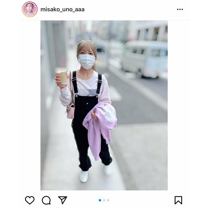 AAA 宇野実彩子、オーバーオール×ピンクのロンTコーデが「最強すぎる」「可愛すぎる」と反響!