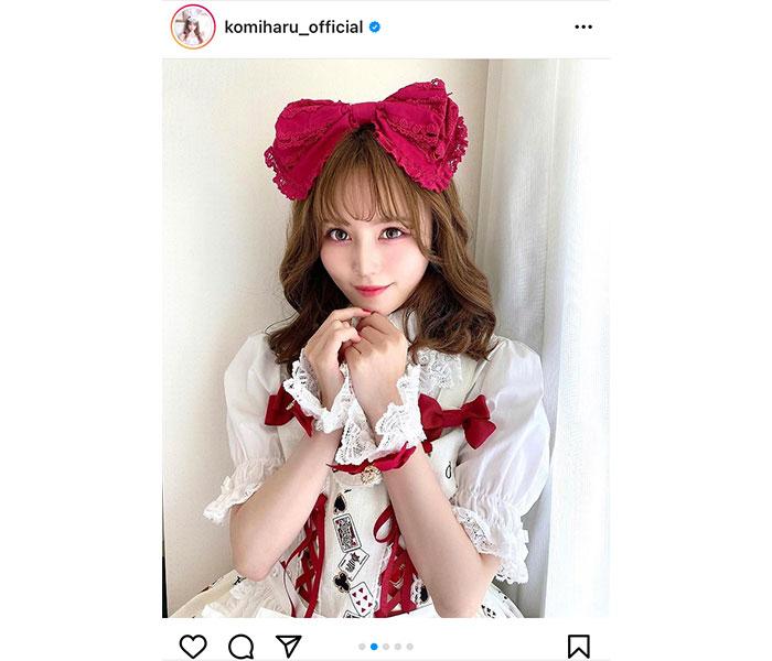 AKB48 込山榛香が初めてのロリータファッションを披露「また、惚れちゃった。。。」