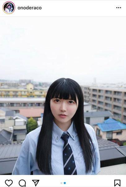 真っ白なキャンバス 小野寺梓と屋上デート!「圧倒的青春」感放つ制服ショット公開