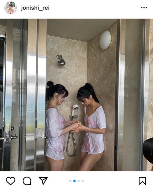 NMB48 上西怜、白間美瑠とのコラボグラビアに歓喜の声!「圧倒的美の暴力」「幸せな気分になった」