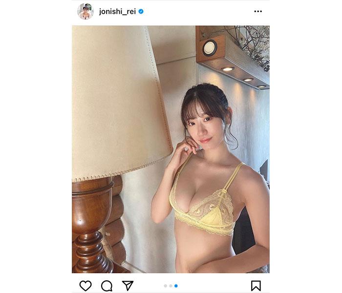 NMB48 上西怜 、ポニーテールが揺れる爽やかセクシーなビキニショット公開!